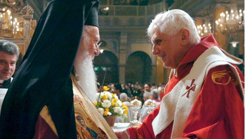 Benedict XVI Honored by Eastern Orthodox Hierarchs